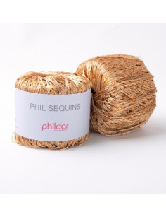 Yarn Phil Sequins Cuivre