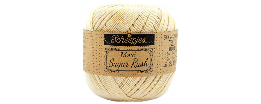 Crochet yarn Scheepjes Maxi Sugar Rush