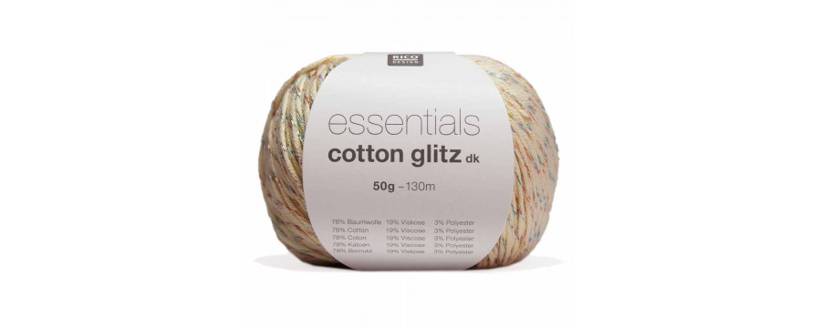 Haakgaren Essentials cotton glitz