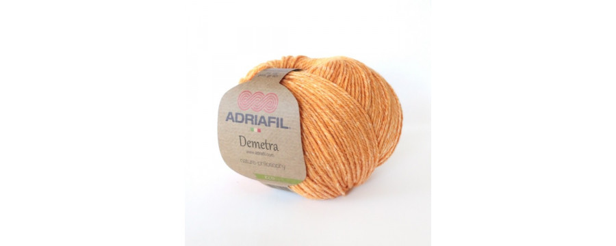 Knitting yarn Adriafil Demetra