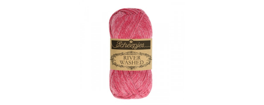 Knitting yarn River Washed