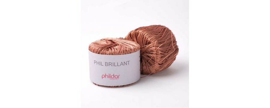 Knitting yarn  Phil Brillant