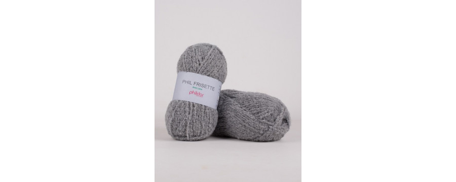 Knitting yarn Phildar Phil Frisette