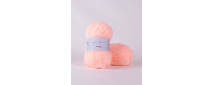 Knitting yarn Phildar Phil Lolita