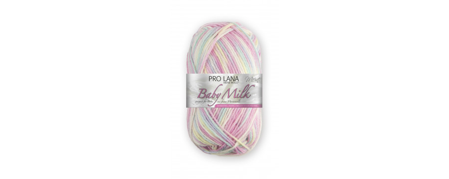 Knitting yarn Pro Lana Baby Milk Color