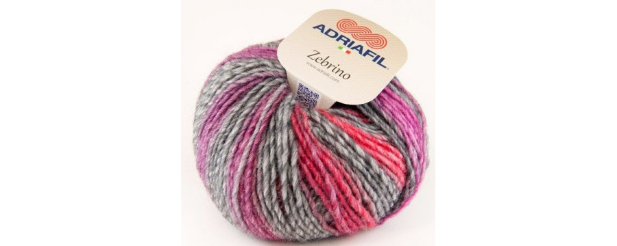 Strickwolle  Zebrino