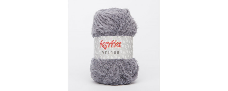 Strickwolle Velour